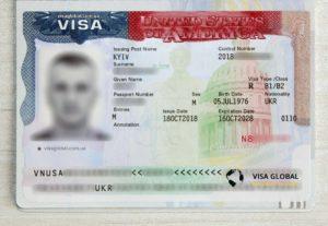 Деловая бизнес виза в США на 10 лет (B1/B2)