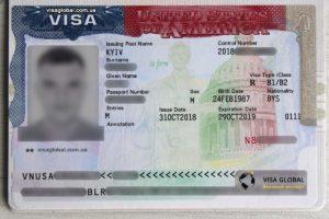 Виза в США для беларусов