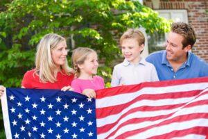 Воссоединение семьи США